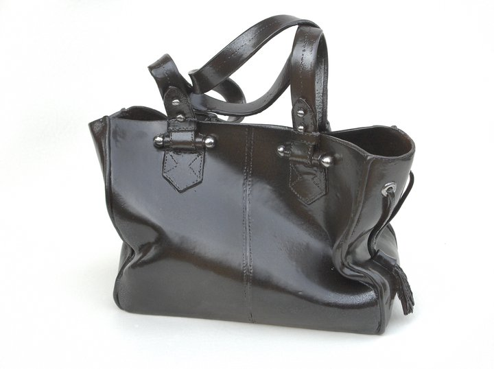 black lancel bag